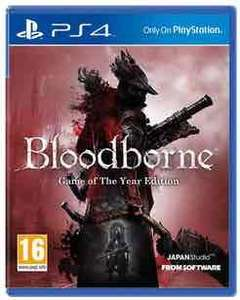 Bloodborne GOTY edition (ps4) preowned £19.99 @ GAME