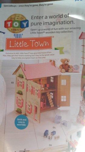 wooden dolls house £29.99 @ Aldi