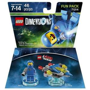 LEGO Dimensions LEGO Movie Fun Pack - Benny - £7.49 - Free C&C @ ToysRus
