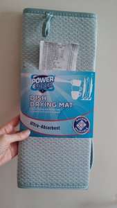 Dish Drying Mat 50p @ ALDI (Lakeland equivalent £7.99), Scouring Balls and Pads 35p