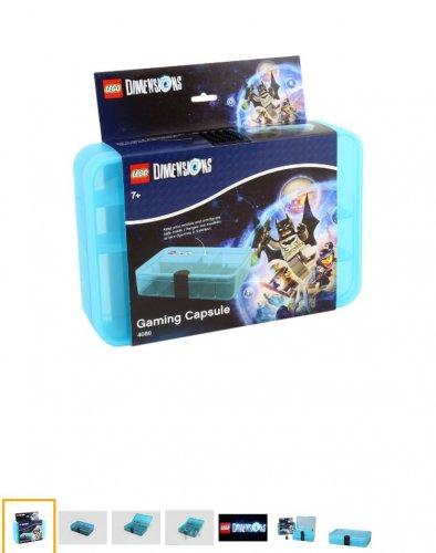 Lego dimensions gaming capsule Amazon prime £10.87 prime / £14.86 non prime @ Amazon