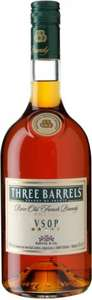 Three Barrels Rare Old French Brandy VSOP (1L) was £22.50 now £18.00 @ Asda