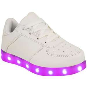 USB Flashing kids trainers £14.99 in Home Bargains