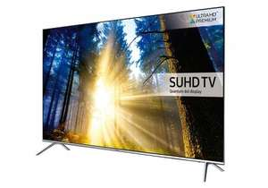 "Samsung UE60KS7000 SUHD HDR 1,000 4K Ultra HD Quantum Dot Smart TV, 60"" with Freeview HD, Freesat, Playstation Now & Branch Feet Design, UHD Premium £1448.99 @ C&M"
