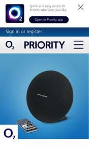 Get 50% off Harman Kardon Onyx 3 Speaker online - O2 Shop - O2 Priority £99.99