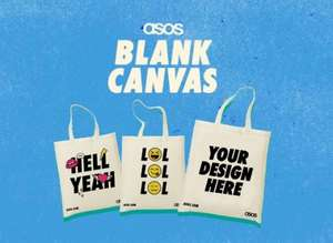 Free tote bag for anyone with an ac.uk email address from ASOS