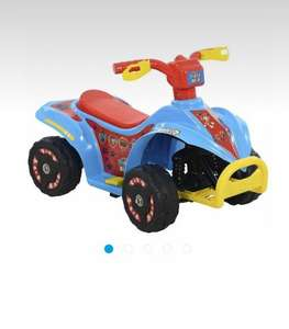paw patrol quad bike was £80 to £40 and now £24 instore at sainsburys
