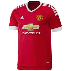 Manchester United 2015/16 Home Shirt £11.99 + £3.95 postage @ Bargain Crazy