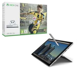 Buy a Surface Pro 4 i5 (256 GB) 8GB RAM & get a FREE Xbox One S with FIFA 17 Bundle £971.10 @ Currys / PCWorld / Microsoft Store