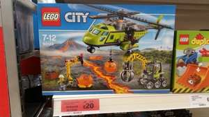 Lego City Volcano Supply Helicopter 60123 - Sainsburys - £20
