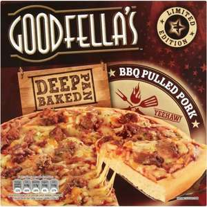 Goodfella's Deep Pan Baked Meat Feast Pizza (414g) was £2.00 now £1.00 @ Morrisons