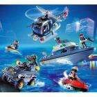 Playmobil Police Rescue Set (Boat, Helicopter, 4x4, Jet Ski, 8 Figures) - Was £59.99 Now £29.99 @ Toys R Us