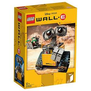 LEGO Disney 21303 Pixar Wall-E - Retiring at the end of 2016. £29.97 @ John Lewis (Now online £2 c&c)