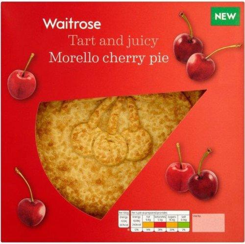 Waitrose Morello Cherry Pie (550g) was £2.99 now £1.99 @ Waitrose