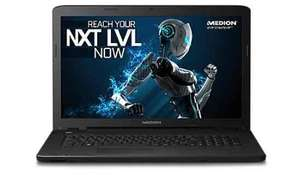 Medion I7 gaming laptop £699 with discount (code) @ medion.com