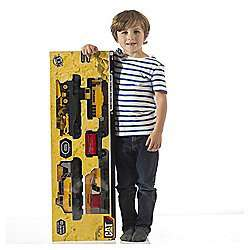 CAT Construction Express Train Set £20.00 @ Tesco - Free C&C