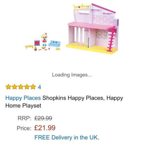 shopkins happy places home £21.99 @ Amazon