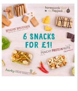 6 Graze snacks for £1 and free delivery (no contract)