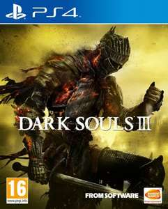 Dark Souls III 3 (PS4) £24.99  sold by amazon prime