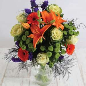 Bouquet of Flowers 50% OFF + delivery (with code) = £21.48 @ DebenhamsFlowers