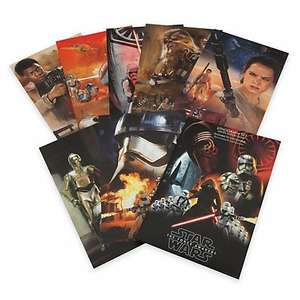 Star Wars: The Force Awakens Limited Edition Lithographs, Set of 7  Disney Store £2.55 with code plus £3.95 delivery