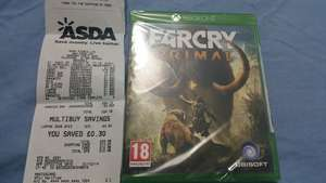 Far Cry Primal, Asda Rochdale - £15