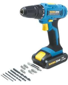 18V Li-ion Cordless Drill 24.99@ aldi online pre order today  / instore on 30 oct