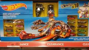 Sainsburys Instore *** Great Deal for Hot Wheels Nitro bot (with 18 cars!) - £25