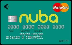 MBNA's new online-only brand Nuba launches with 41 month balance transfer offer, and an 'all-round' credit card, plus a £20 Amazon voucher sign-up perk