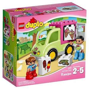 LEGO DUPLO Town 10586: Ice Cream Truck Half price in store at Sainsbury's for £6.50