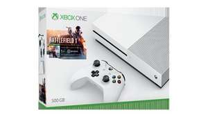 Xbox One S 500GB Battlefield 1 Bundle with Mafia 3 and Overwatch @ Tesco Direct