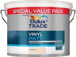 Dulux Trade Vinyl Matt Magnolia 7.5L £21.60 @ Travis & Perkins - Collect in Store