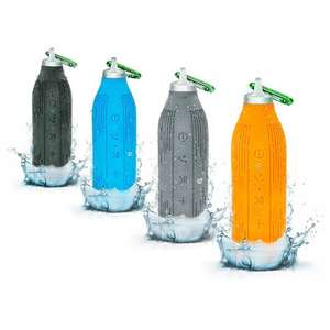 Rugged Outdoor Splash / Shock / Drop proof Bluetooth Bottle Speaker was £19.99 now £8.99 delivered using code @ PrePayMania (Various colours)