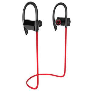 Sports Bluetooth Headphones, SEGURO SP-1 Wireless IPX4 Sweatproof Bluetooth Earbuds with noise cancellation - Sold by SEGURO and Fulfilled by Amazon for £11.99 (Prime or add £3.99)