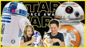 Talking Interactive R2D2 OR Talking Interactive BB8 now £23.95 delivered @ The Disney Store