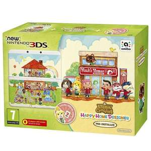 New Nintendo 3DS Animal Crossing Happy Home designer Console + £15 Toys R Us Gift Card £99.96 @ Toys R Us (C&C only)