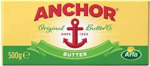 Anchor Block Butter - Salted (500g) was £3.25 now £2.00 (Rollback Deal) @ Asda
