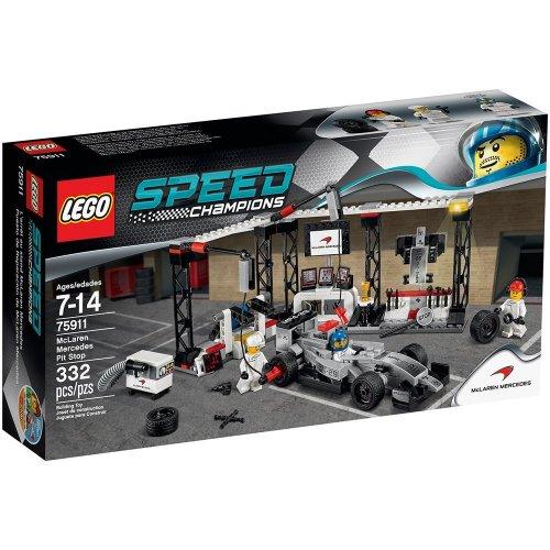 Lego Speed Champions McLaren Mercedes Pit Stop £20.36 @ Amazon (Prime Only)