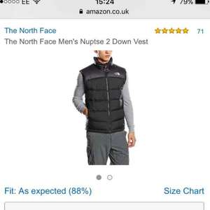North Face Gilet £87.90 @ Amazon