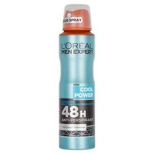 L'Oreal Paris Men Expert Cool Power 48H Anti-Perspirant Deodorant 150ml at Amazon for £1 (add-on)