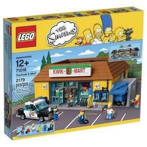 LEGO Simpsons The Kwik-E-Mart £149.99 [Using Code] + LEGO Geoffrey the Giraffe + £15 Gift Card @ Toys R Us