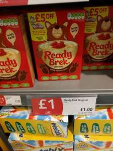 Ready Brek Original £1 in Co-Op with £5 off £20 spend on Play-Doh at Argos on box