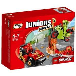 Lego ninjago juniors snake showdown mixed £6.23 from  £12.99 @ Amazon (Prime or add £4.75)