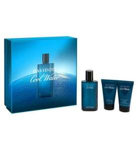 Davidoff Cool Water 75ml Gift Set @Boots for £19.20 (Free C&C)