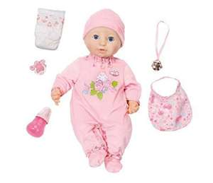 Baby Annabel v10 £27.99 Amazon
