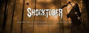 XBOX1 and 360 Shocktober Deals - 2 only days left!