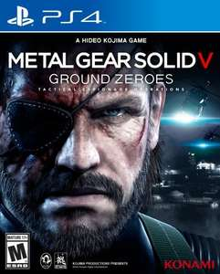 PS4 Metal Gear Solid V Ground Zeroes 8.86 Delivered @ Shopto