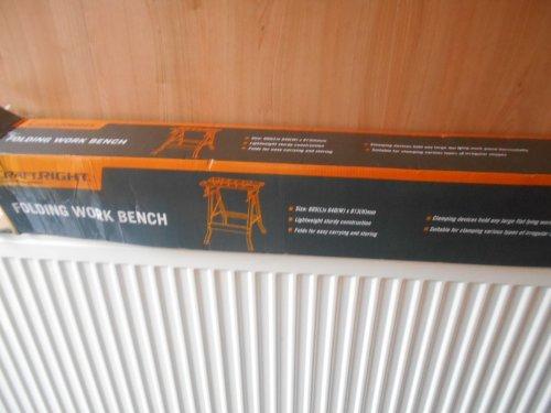 Craftright folding workbench £7.50 Homebase - Morecambe