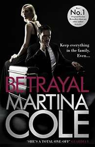 Martina Cole - Betrayal - reduced to just 99p on Amazon Kindle
