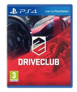 Driveclub PS4 £4.59 (using code) pre-owned @ GAME